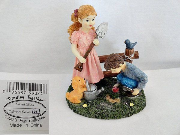 Growing Together Child's Play Figurine