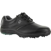 NEW! FootJoy [9.5] Medium 45538 Men's Greenjoy's Golf Shoes Black Size: 9.5 (M) - $108.78