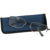 8c945e81c110 Foster Grant Eyessential Kirk Men  39 s Reading Glasses with Case +2.00 -