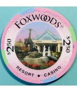 $2.50 Casino Chip. Foxwoods, Ledyard, CT. V24. - $4.99