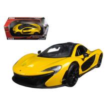 McLaren P1 Yellow 1/24 Diecast Model Car by Motormax 79325y - $29.91