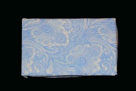 2 Ralph Lauren Fancy Blue & White Tone on Tone PAISLEY Standard Pillowca... - $36.99