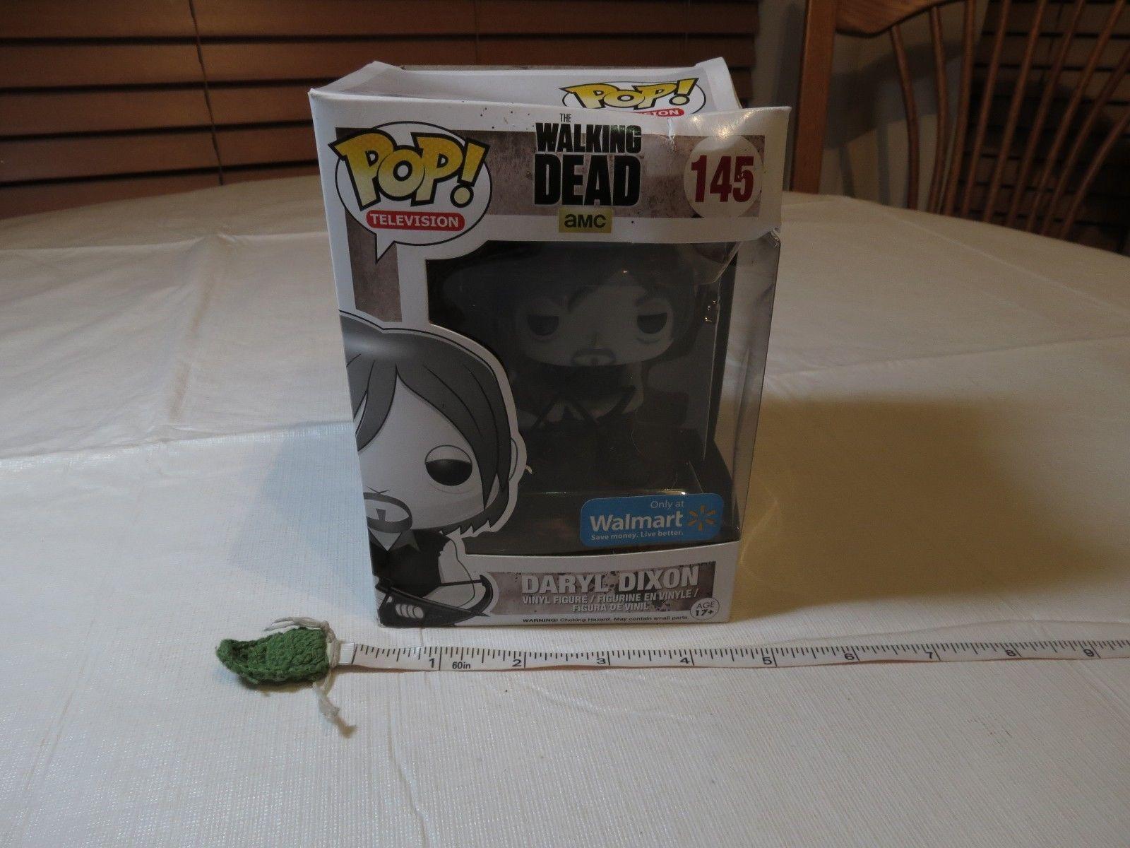 76d5aaa438d 57. 57. Previous. AMC The Walking Dead Daryl Dixon Funko 145 Walmart Pop!  Television black white