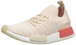 adidas Originals Women's NMD_r1 Stlt Pk Running Shoe 8.5 Linen/White/White - $118.75