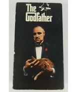 THE GODFATHER VHS 1990 Paramount 2 Tape Set featuring Marlon Brando  - $9.49