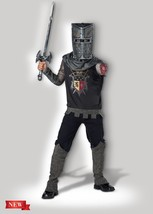 Incharacter Black Knight Renacimiento Medieval Infantil Disfraz Hallowee... - $30.39