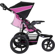 Stroller - Baby Trend XCEL Jogging Stroller Raspberry. adjustable reclining Seat - $108.34