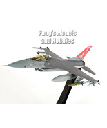 F-16 (F-16C) Falcon - 100th FS - USAF ANG - Display Stand 1/72 Diecast M... - $118.79