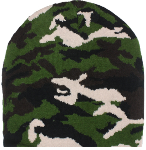 Case of [72] Camouflage Beanie Hat