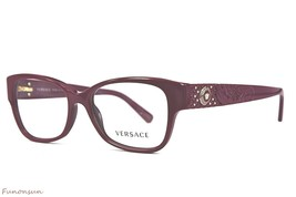 Versace Women's Eyeglasses VE MOD 3196 5067 Light Violet Cate Eye Plastic Frame - $92.68