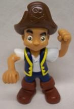 "Mattel Disney Jake and the Neverland Pirates JAKE PIRATE 5"" Plastic Toy ... - $14.85"