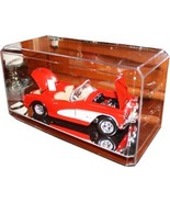 Nascar unsigned 1:24 Crystal Clear Display Case with Mirror-like Base - $16.95