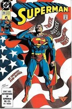 Superman Comic Book 2nd Series #53 DC Comics 1991 VERY FINE/NEAR MINT NE... - $3.99