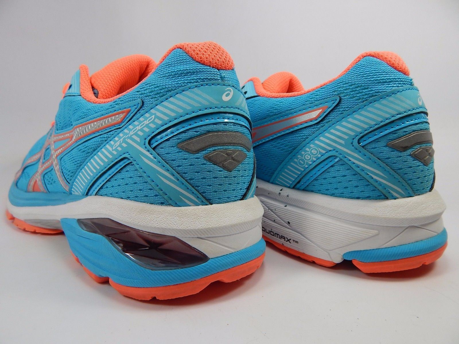 Asics GT 1000 v 5 Women's Running Shoes Sz US 8.5 M (B) EU 40 Blue Orange T6A8N