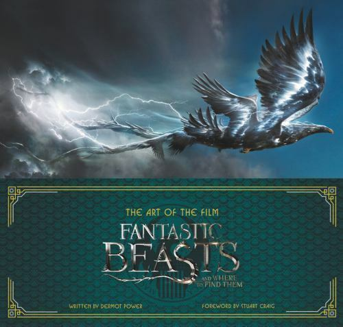 The Art of the Film : Fantastic Beasts and Where to Find Them : New Hardcover @Z