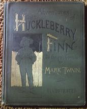 Mark Twain ADVENTURES OF HUCKLEBERRY FINN salesman's sample 1st Ed. 1885... - $7,840.00