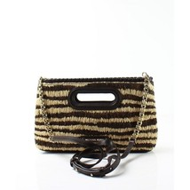 Michael Kors Rosalie Large Clutch Bag Natural - $107.79