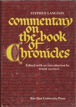 Commentary on the Book of Chronicles  - $85.00
