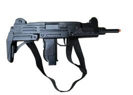 Gonher Replica Israeli Uzi Style 12 Shot Cap Gun - Black Finish with Sling - $67.31