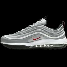 New Nike Air Max 97 G NRG Golf Shoe Bidders Choice! Silver Bullet Multip... - $249.00