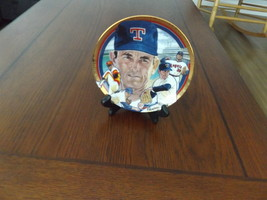 Collectors Plate Featuring Nolan Ryan From The Hamilton Collection 1992 #3048A - $35.00