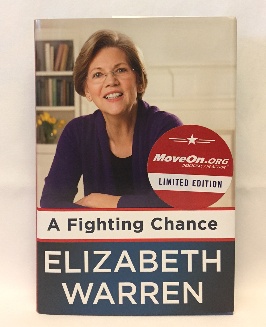 Primary image for A Fighting Chance by Elizabeth Warren 2014 1st Edition hardcover w/ dust jacket