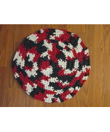 Rag Rug Handmade with recycled clothing TF028/ALS - $12.93
