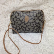 Yves Saint Laurent Coated Canvas Pouch Crossbody 11in x 8in x 2in - $132.95