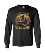 Alan Jackson It's Five O'clock Somewhere Vintage G240 LS Cotton T-Shirt - $27.50+