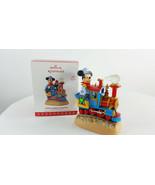 Hallmark Keepsake 2017 Mickey's Magic Railroad Ornament - $54.44