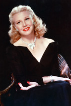 Ginger Rogers Black Dress 18x24 Poster - $23.99