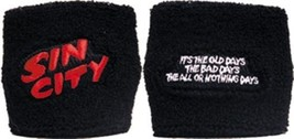 Sin City Movie Name Logo & Quote Sport Wrist Band NEW - $4.88
