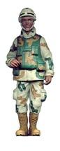 "Kurt Adler 8"" US Marine Male Soldier Christmas Ornament - $11.62"