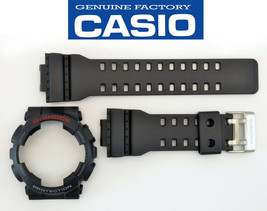 Casio GA-110 Genuine Watch Band & Bezel Rubber Strap  Black G-Shock GA-... - $40.95