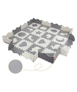 Magicfly Large Baby Play Mat with Fence, Interlocking Foam Floor Tiles w... - $56.53