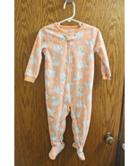 Carter's Polar Bear Long Sleeve Fleece Sleeper Body Suit - Size 18 Months - $12.99