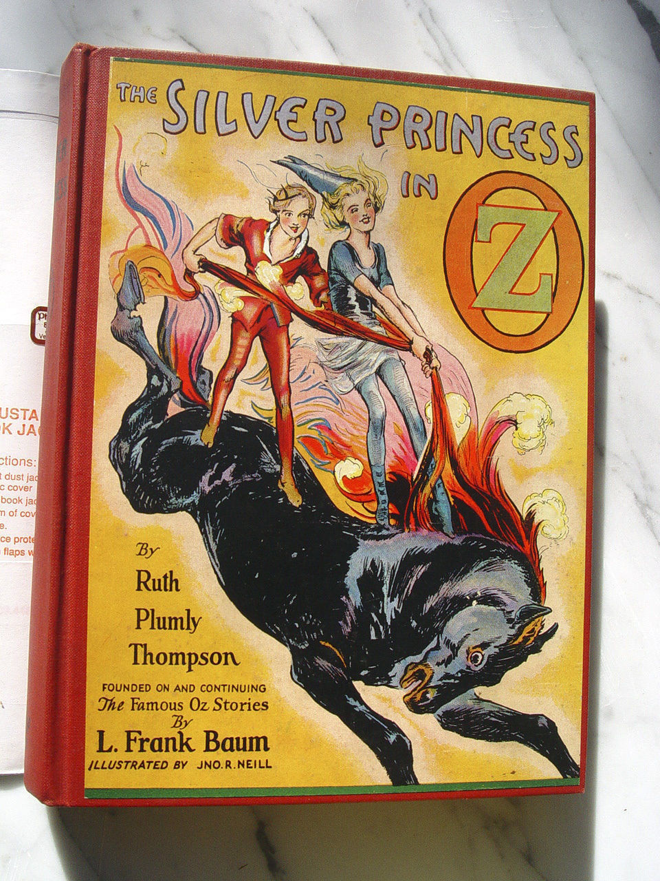 Ruth Plumly Thompson - L. Frank Baum - THE SILVER PRINCESS IN OZ 1st - Look!: -)