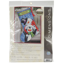 "Dimensions Stocking Needlepoint Kit 16"" Long-Polar Pals Stitched In Thread - $71.00"