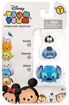 Disney Tsum Tsum Collectible Stackable Figurines Series #1 Goofy Eeyore & Stitch - $3.95