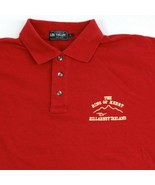 Vintage Lee Valley Polo pour Hommes Taille L Killarney Ireland The Ring ... - $4.95