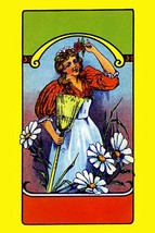 Daisy Maid Broom Label - Art Print - $19.99+