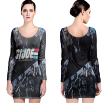 G.I. Joe Women Sexy Long Sleeve Bodycon  Dress - $24.80+
