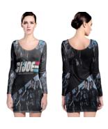 G.I. Joe Women Sexy Long Sleeve Bodycon  Dress - $24.80+