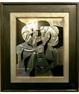 """Neal Doty (1941-2016)-""""Cyberman""""-Original Mixed Media Painting/Hand Sign... - $660.25"""
