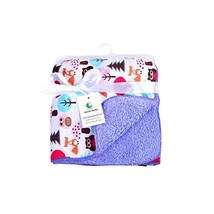 Genio Baby Sherpa Fleece Baby Blanket Unisex 30 x 40 Soft- Perfect for S... - $21.15