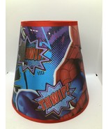Marvel Spiderman Lamp Shade - Dual Layer, Relief, 3-D great shape!! - $35.15