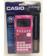 Casio - FX-9750GII - Graphing Calculator - Pink - $69.25