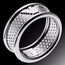 Emporio Armani Stainless Steel Eagle Logo Ring Size 10 EGS1023 BNWT - $85.00
