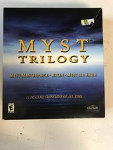 Myst Trilogy - Masterpiece, Riven, Exile (PC, 2001, Ubisoft Entertainment) - $44.00