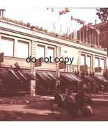 1966 Barcelona La Rambla Department Store Street Scene Medium Format  Sl... - $19.79
